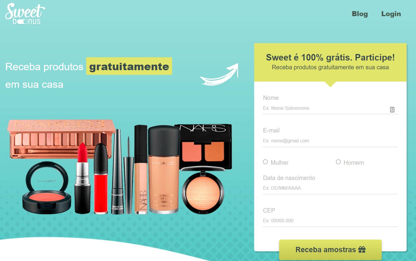 Amostra grátis de maquiagem: aprenda como e onde pedir online
