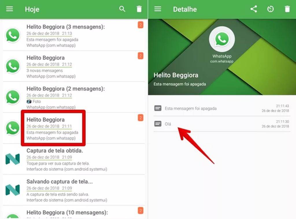 Recuperar mensagens apagadas do WhatsApp – Saiba como