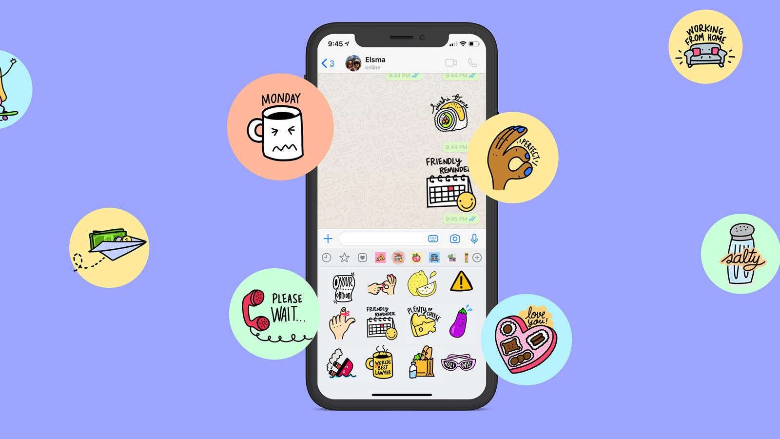 Pacote de figurinhas para WhatsApp - Descubra como baixar e usar
