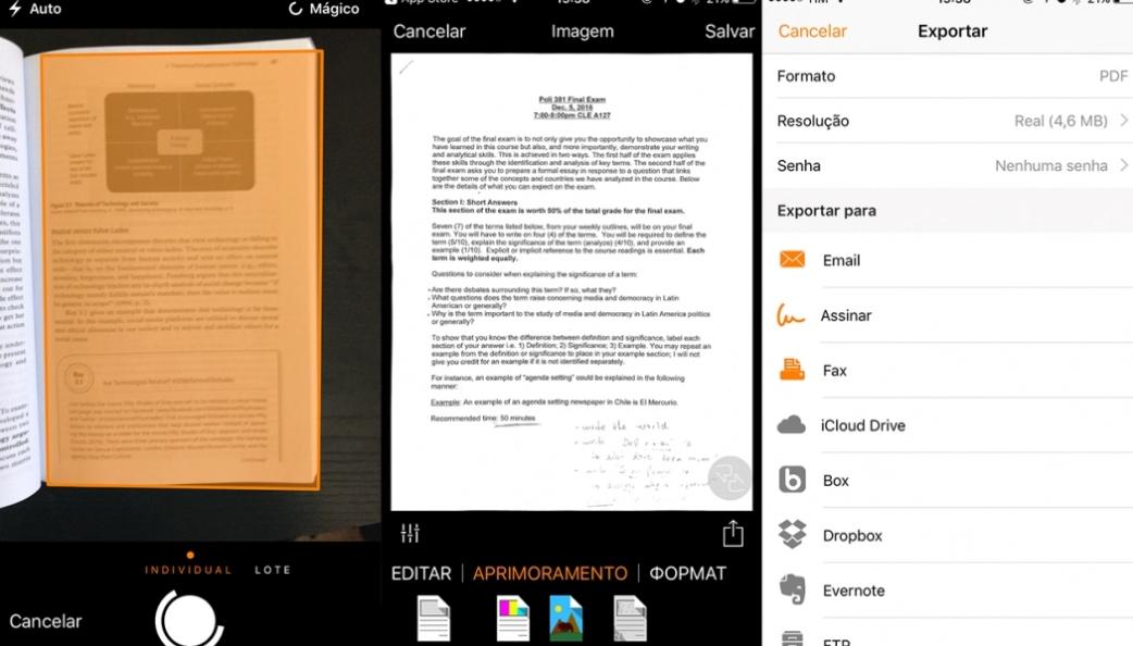 Conheça os melhores aplicativos gratuitos para escanear documentos