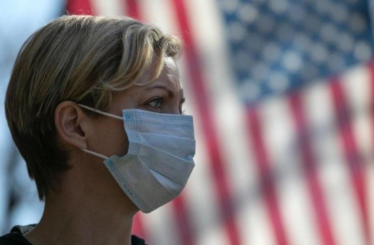 COVID-19 é agora a terceira maior causa de morte nos EUA