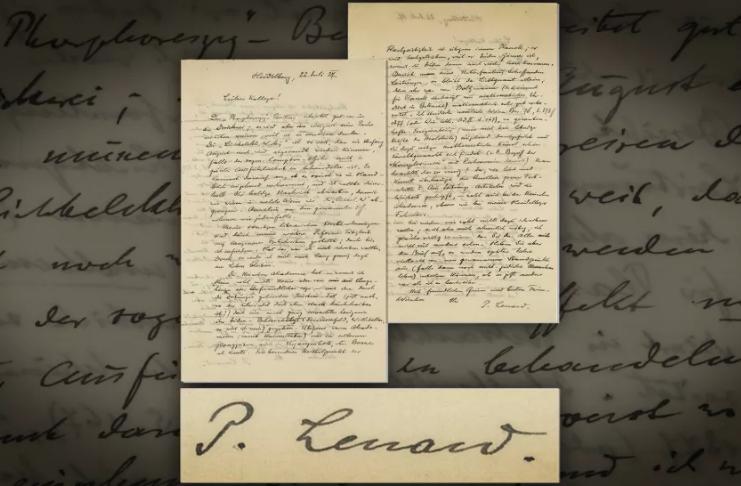Físico racista zomba de Einstein e dos judeus em carta antissemita de 1927 colocada em leilão