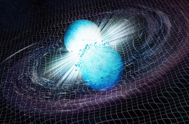 O que você ganha quando duas estrelas de nêutrons colidem?