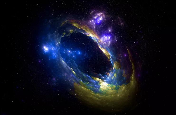 Um mini universo fractal pode estar dentro de buracos negros carregados