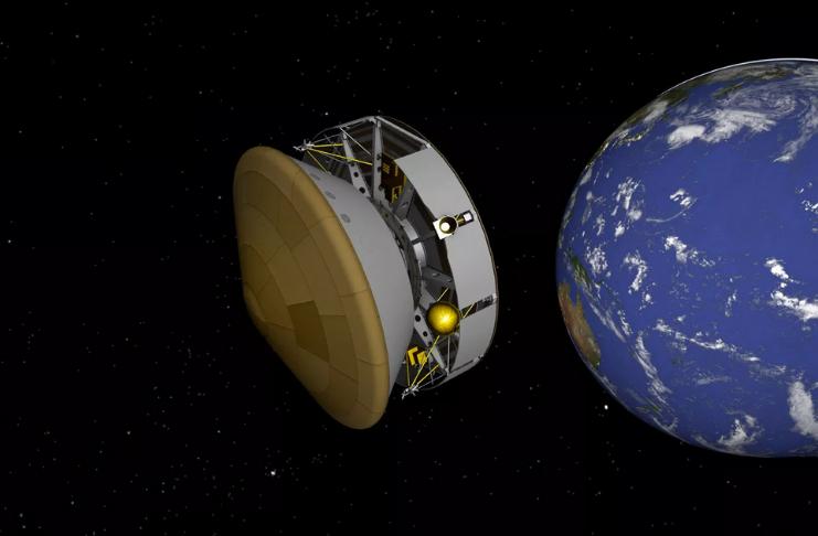 O Perseverance do Mars rover da NASA está a meio caminho do Planeta Vermelho