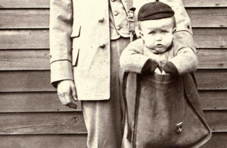 No início dos anos 1900, era possível enviar uma criança nos EUA