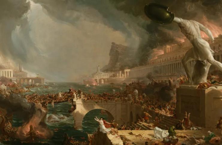 Por que Roma caiu?