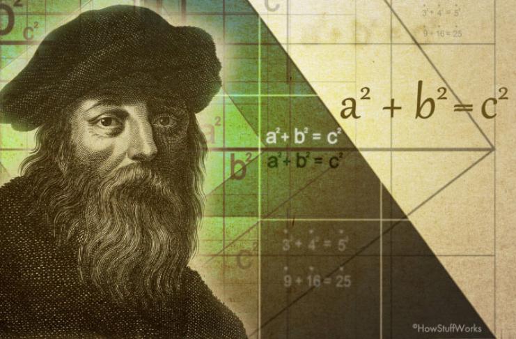 O teorema de Pitágoras torna possível a construção e o GPS