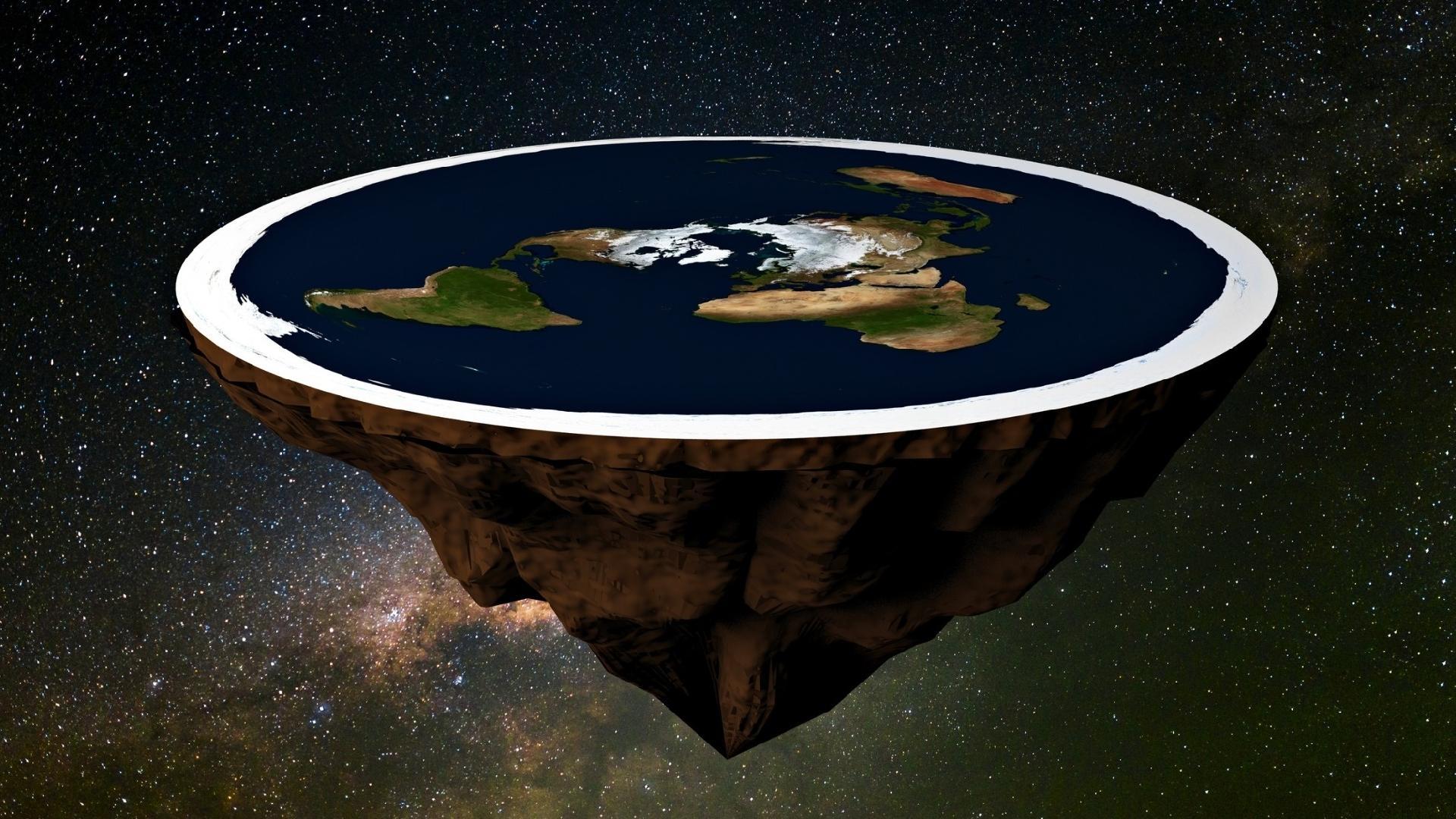 Se a terra fosse realmente plana, como seria o mundo segundo a ciência