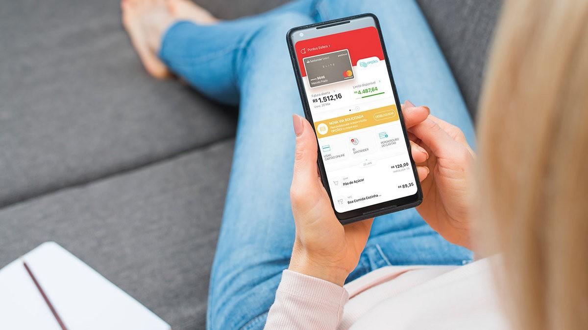 Aprenda a solicitar cartão Santander SX