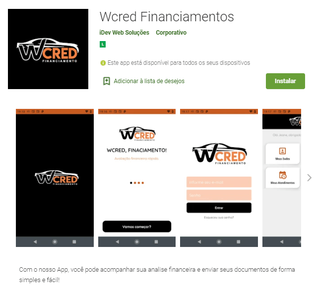 Wcred - Aprenda como solicitar