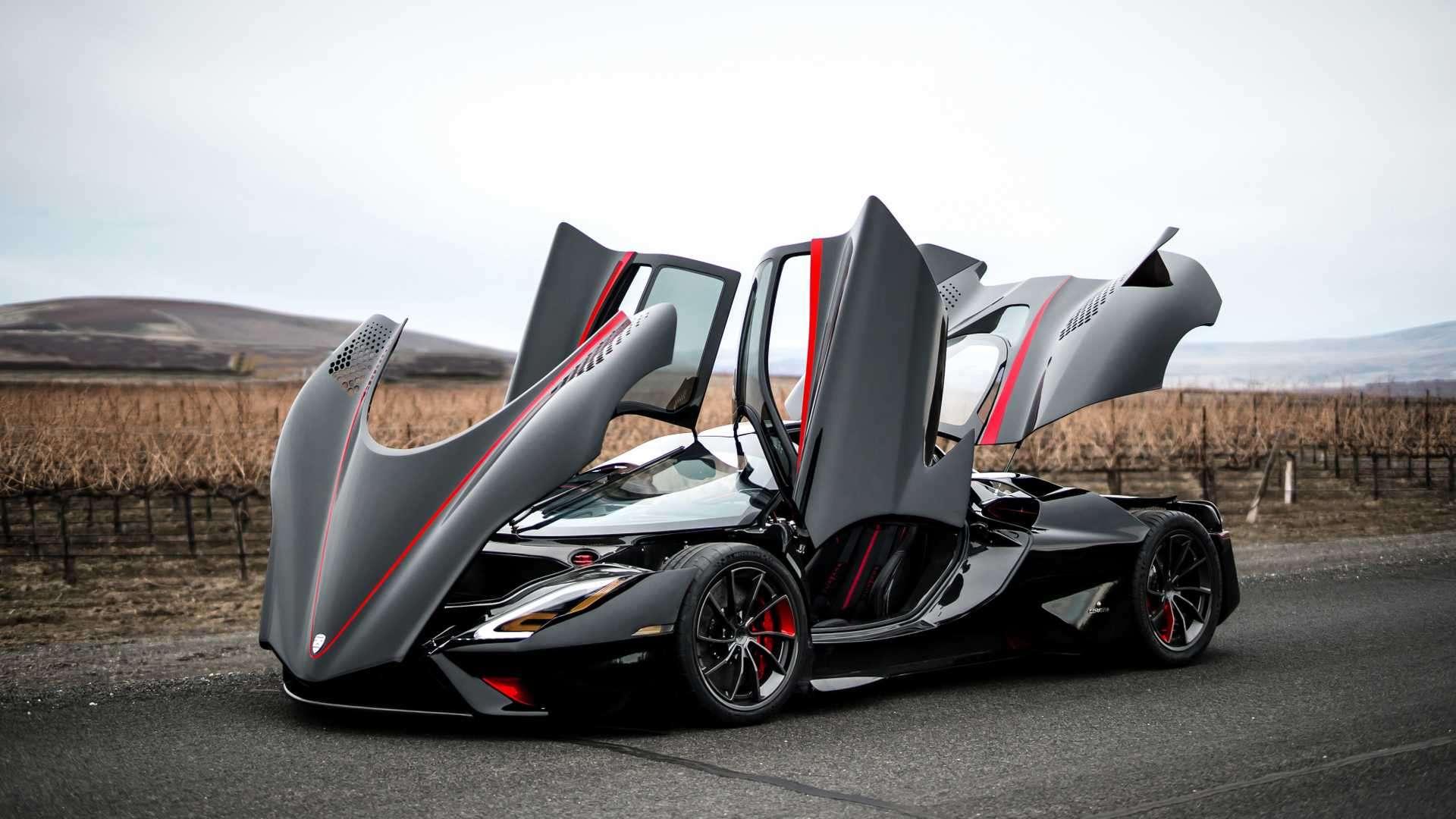 Conheçam os 7 carros mais rápidos do mundo